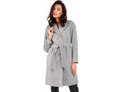 Reve kabát MM-104808 šedá
