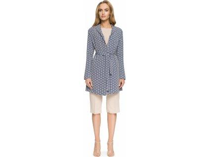 Style kabát MM-112789 modrá