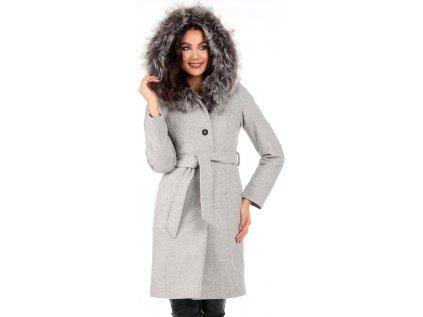 Reve kabát MM-104815 šedá