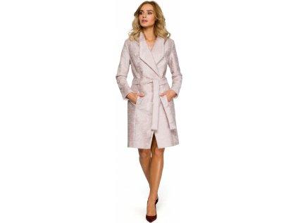 Moe kabát MM-125328 růžová