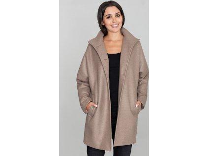 Figl kabát MM-111018 hnedá