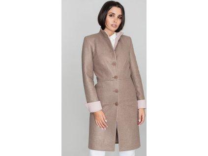 Figl kabát MM-111020 hnedá