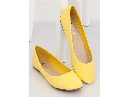 Inello balerinky MM-132690 žlutá