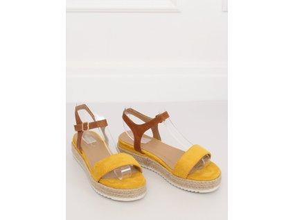 Inello sandály MM-133083 žlutá