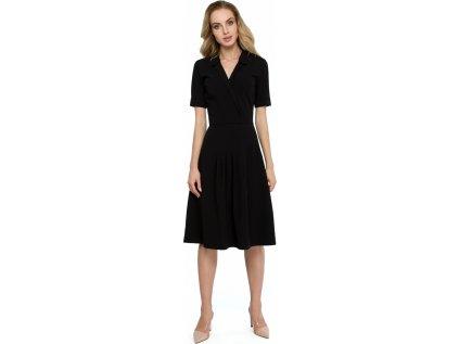 Style denní šaty RF-121927 černá