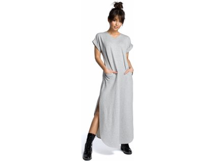 BE denní šaty RF-113845 šedá