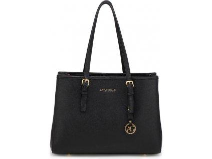 Anna Grace Luxusní kabelka AG00571_BLACK