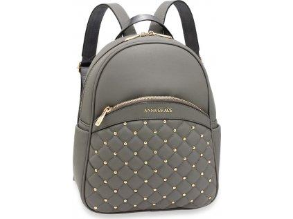 Anna Grace dámský batoh AG00590_GREY šedý