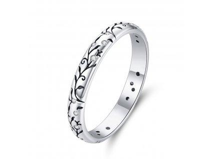 Royal Fashion prsten Rozkvetlá příroda SCR659