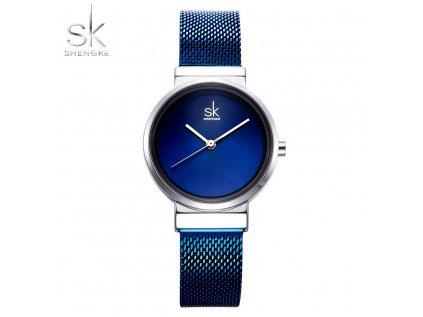 SK Shengke hodinky Elegance Blue K0083_BLUE