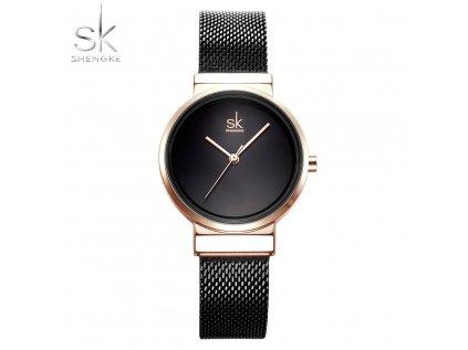 SK Shengke hodinky Elegance Black K0083_BLACK