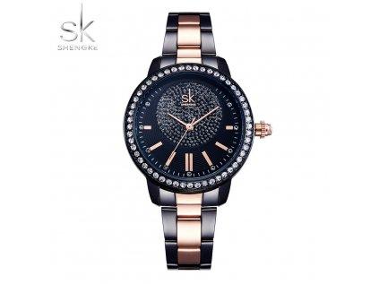 SK Shengke hodinky Luxury Black K0075L02