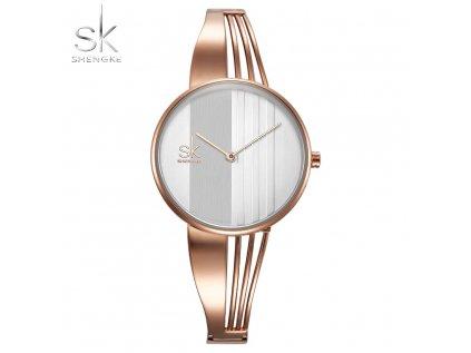 SK Shengke hodinky Nadčasová elegance K0062_L02_ROSEGOLD