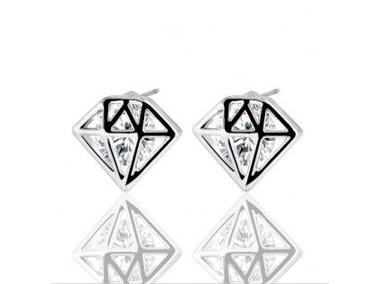Náušnice 17KM Diamond NC0115 zirkon