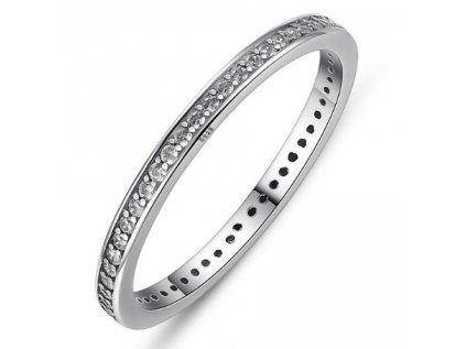 Royal Fashion prsten Jemná třpytivá elegance SCR030