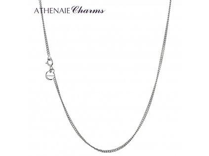 Athenaie řetízek Jemný stříbrný NLS01