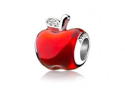 Athenaie přívěsek Sněhurčino červené jablko EN65
