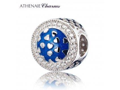 Athenaie přívěsek Zářící srdce EN13