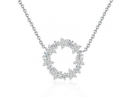 Royal Fashion náhrdelník Krásná Gypsophila BSN028