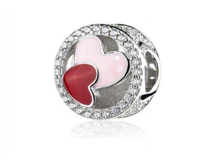 Athenaie přívěsek Spojená srdce EN51