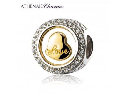 Athenaie přívěsek Nádherná láska PAV43