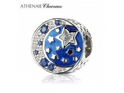 Athenaie přívěsek Půlnoční obloha EN28