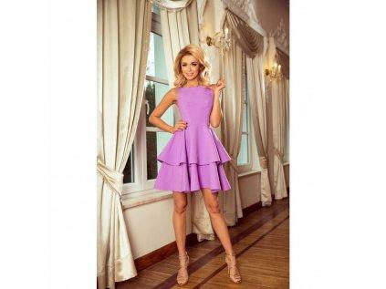 913094a45fff Numoco dámské koktejlové šaty 169-6 fialové