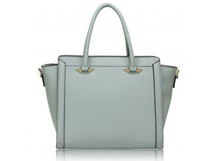 Elegantní a stylová kabelka do ruky světle modrá Anna Grace