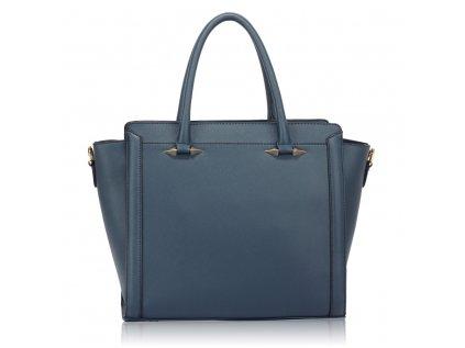 Elegantní a stylová kabelka do ruky tmavě modrá navy Anna Grace