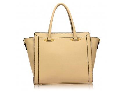 Elegantní a stylová kabelka do ruky béžová Anna Grace
