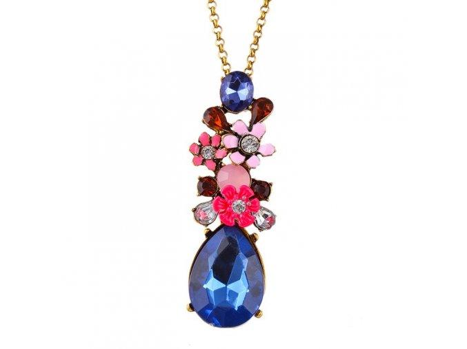 17KM náhrdelník DENDERA ND0106 květinový
