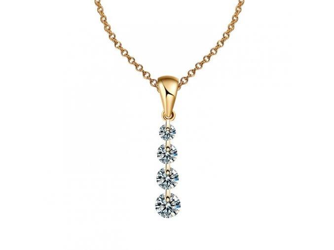 17KM náhrdelník Chance ND0110 stříbrný