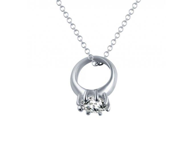 17KM náhrdelník Ring ND0134