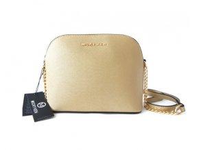 Micky Ken Luxusní kabelka MK225_GOLD