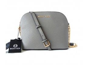 Micky Ken Luxusní kabelka MK225_GREY