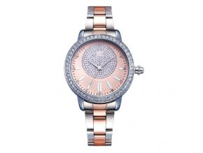 SK Shengke hodinky Luxury Rose Gold K0075-L01-SILVER