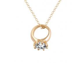 17KM náhrdelník Ring ND0135