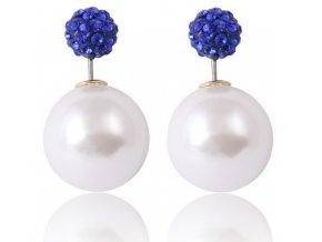 Náušnice 17KM Pearl NC0138 modré