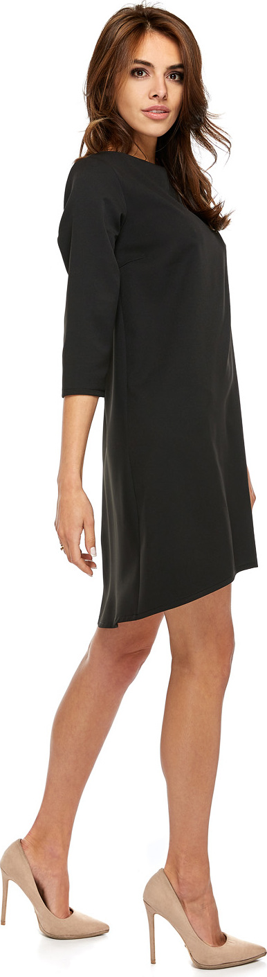 Oohlala společenské šaty MM-130742 černá Velikost: 40
