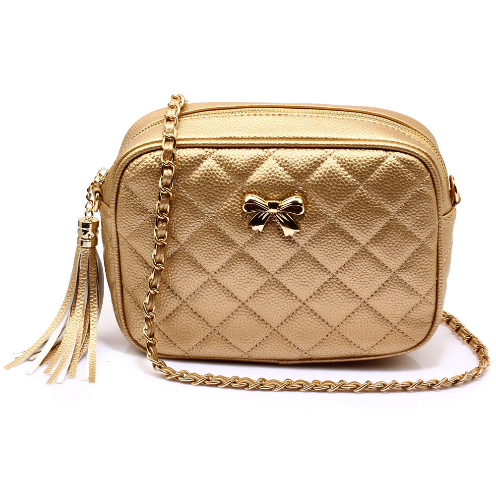 923fa177eb Anna Grace Elegantní kabelka AG00540 GOLD