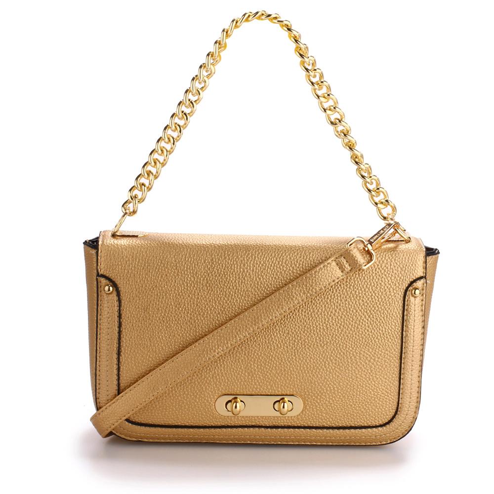 773ff71546 Anna Grace Luxusní kabelka AG00560 GOLD