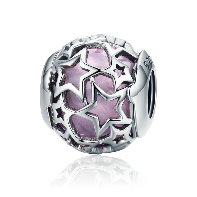 Přívěsek Růžové hvězdné nebe Royal Fashion SCC510
