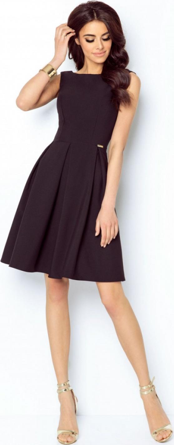 IVON společenské šaty MM-116127 černá Velikost: 40