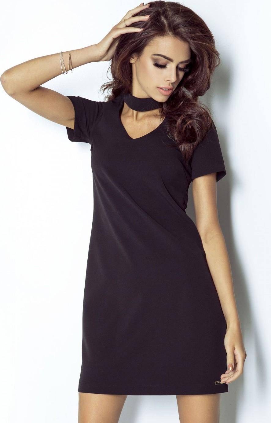 IVON společenské šaty MM-103072 černá Velikost: 40