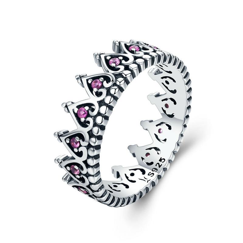 Royal Fashion prsten Korunka pro princeznu SCR257 Velikost: 57 mm