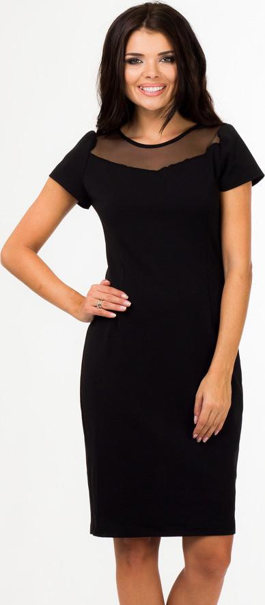 Bass společenské šaty MM-51786 černá Velikost: 40
