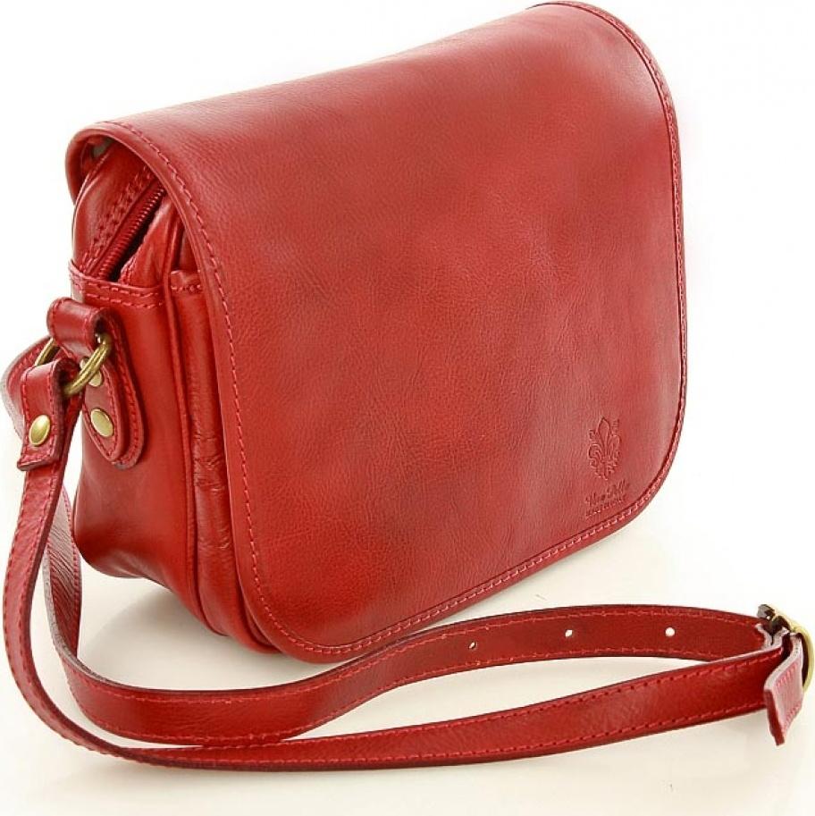 8152c2db22 Vera pelle kožená kabelka MM-119871 červená Velikost  Univerzální