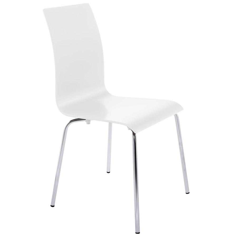 Kokoon Design dřevěná židle Classic CH00060WH bílá