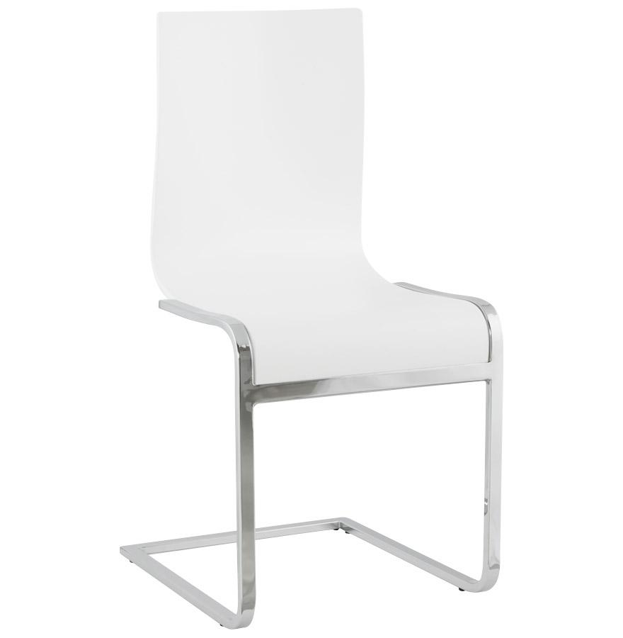 Kokoon Design dřevěná židle Soft CH00100WH bílá