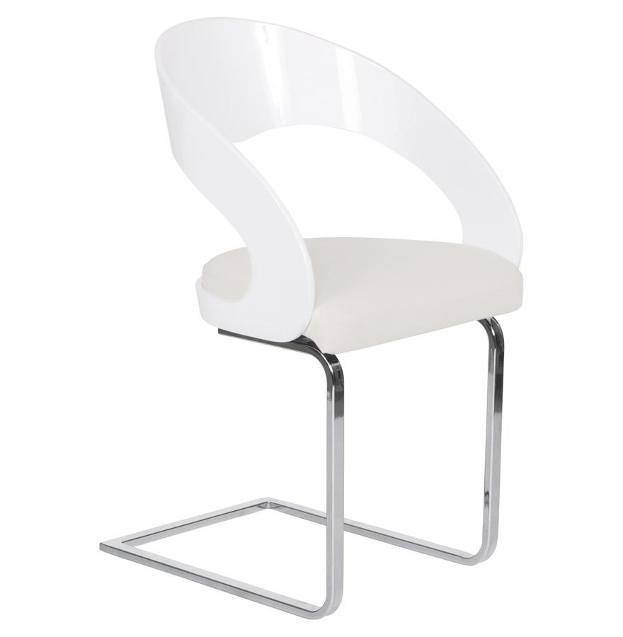 Kokoon Design dřevěná židle Mona CH00160WHWH bílá